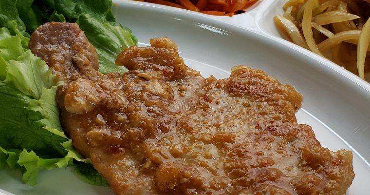 豚味噌焼き定食