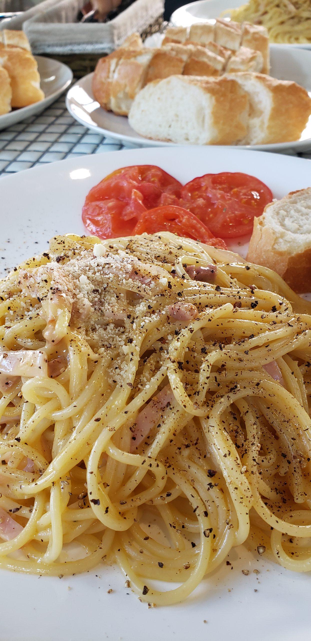 スパゲティカルボナーラ