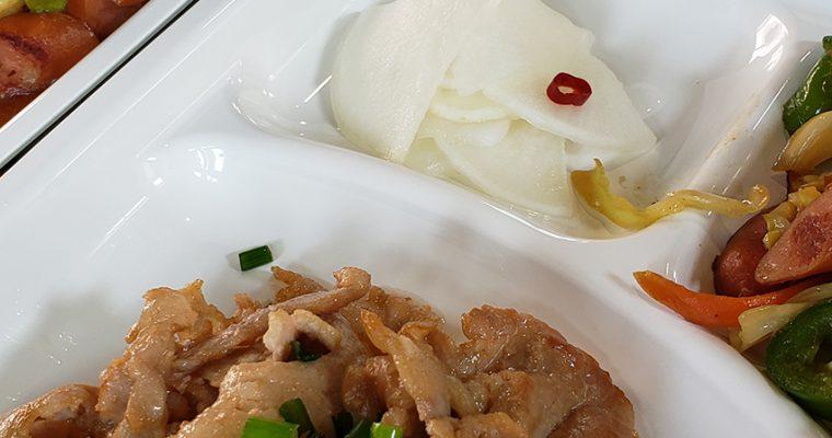 豚肉のマヨポン焼き