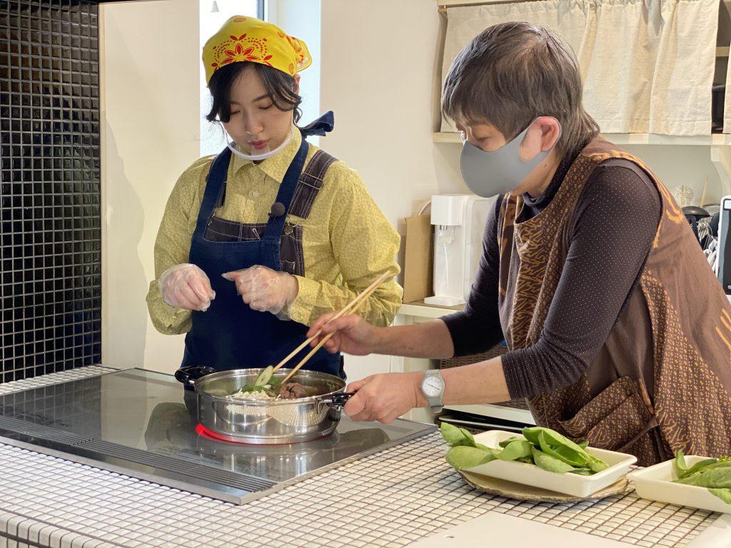 JAMに波多野菜央さんがやって来た!